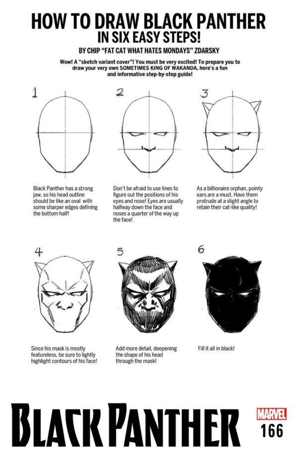 Marvel announces How To Draw Variant Covers from Chip Zdarsky