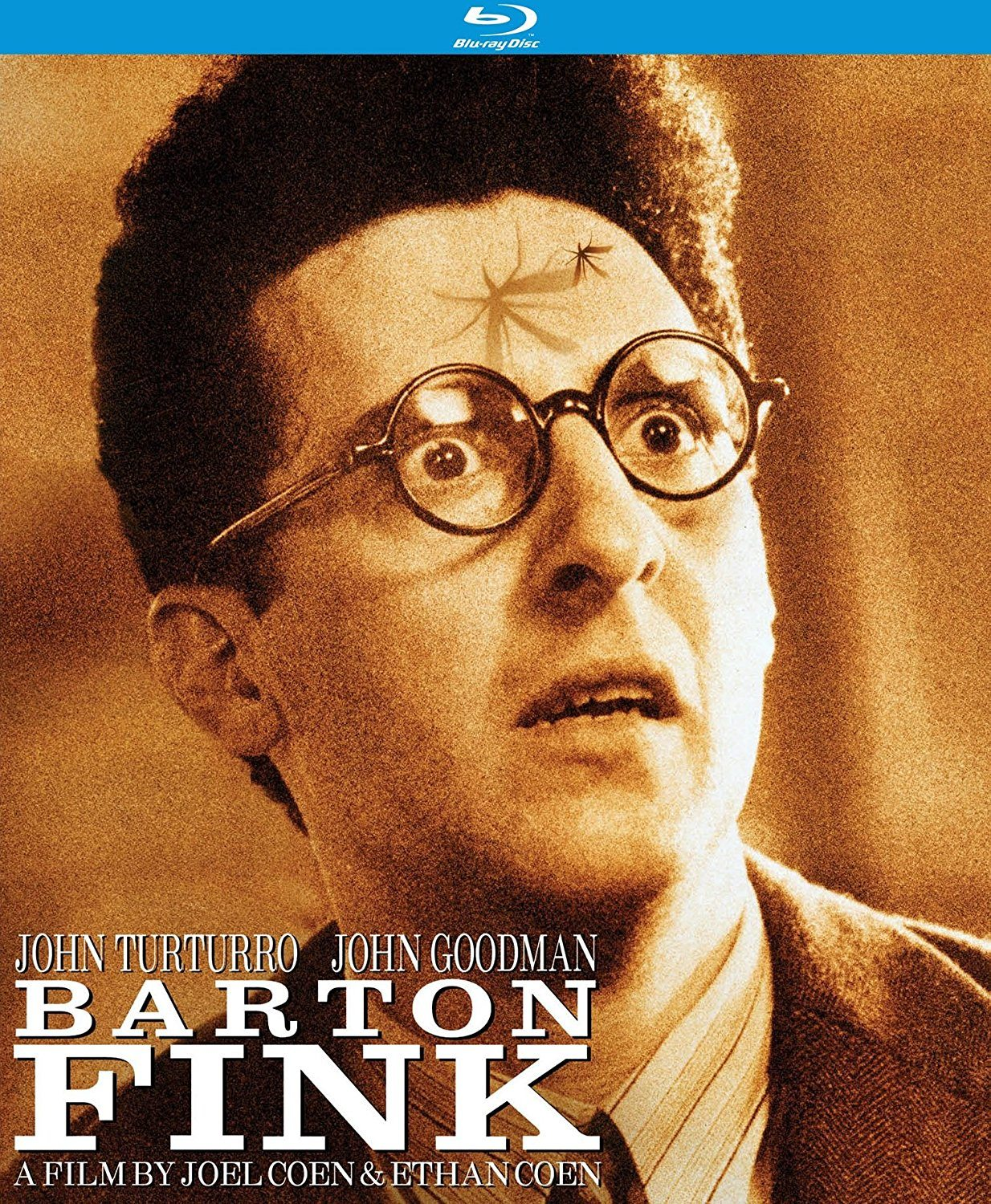 """barton fink In """"barton fink,"""" the coens present a vision of hell that at first resembles the real  world but soon becomes its own living, breathing organism."""