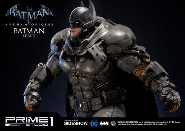 Sideshow And Prime 1 Studio Are Proud To Present The Batman Extreme Environment Suit From Arkham Origins Cold Heart DLC
