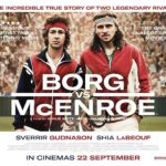 New poster for Borg/McEnroe featuring Shia LaBeouf and Sverrir Gudnason