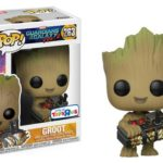 Star-Lord, Groot and Drax Pop! Vinyl figures from Guardians of the Galaxy Vol. 2