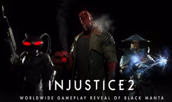 Black Manta Joins the Roster of Injustice 2