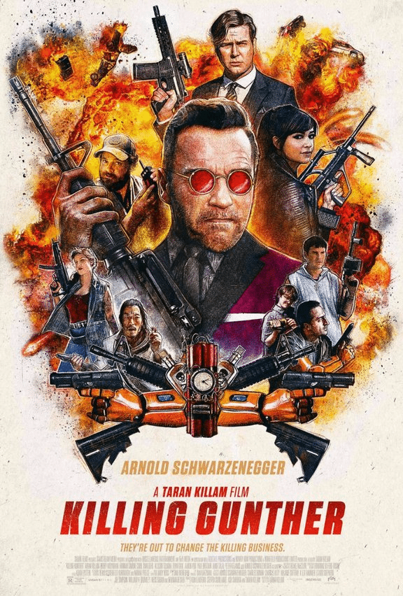 Movie Review - Killing Gunther (2017)