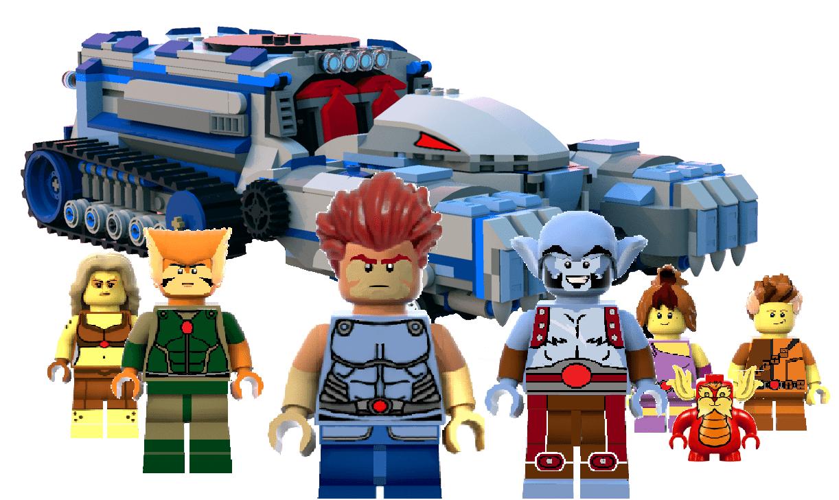 Thundercats Thundertank Project Hits Lego Ideas