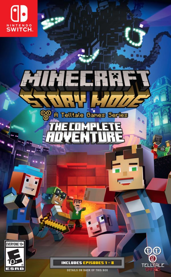 Minecraft Story Mode The Complete Adventure Comes To Nintendo