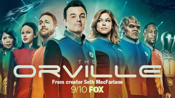 Seth MacFarlane favors sci-fi optimism in TV's 'The Orville'