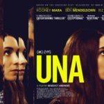 UK poster for Una starring Rooney Mara and Ben Mendelsohn