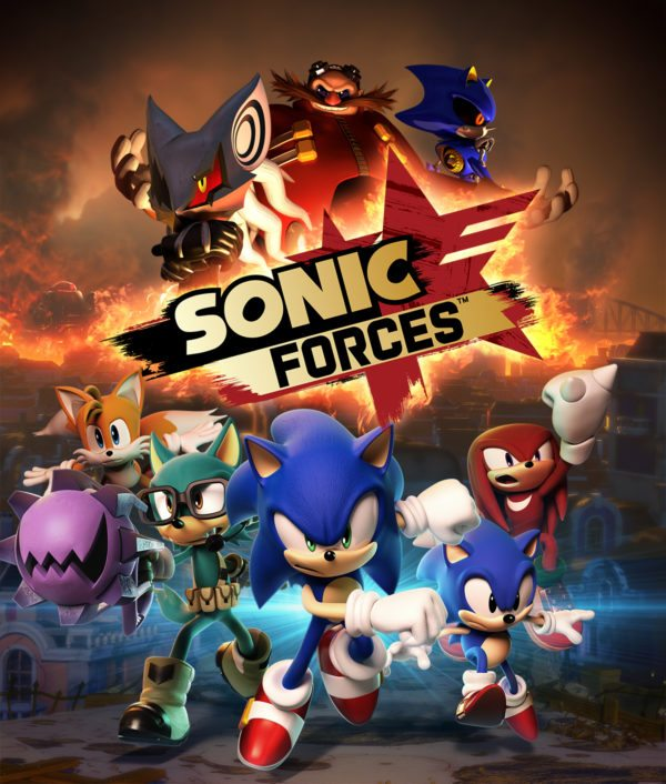 Sonic Forces will be spinning into retail in November