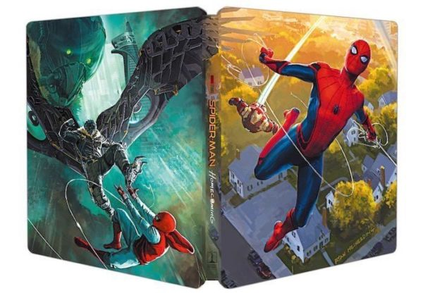 Spider-Man-Homecoming-Blu-ray-Steelbook-600x416