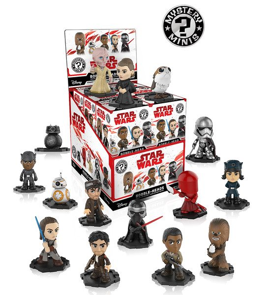 Funko S Star Wars The Last Jedi Pop Vinyl Bobble Head