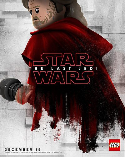 Star Wars: The Last Jedi character posters get the LEGO treatment