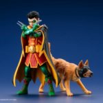 Robin and Ace the Bat-Hound ARTFX+ statues unveiled by Kotobukiya