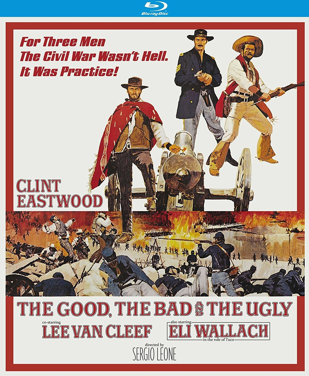 bluray review � the good the bad and the ugly 50th