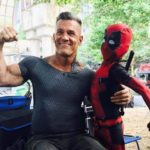 Ryan Reynolds shares Deadpool 2 set photo featuring Cable and Little Deadpool
