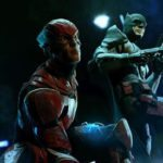 Flashpoint fan art features Jeffrey Dean Morgan's Batman alongside Ezra Miller's Flash