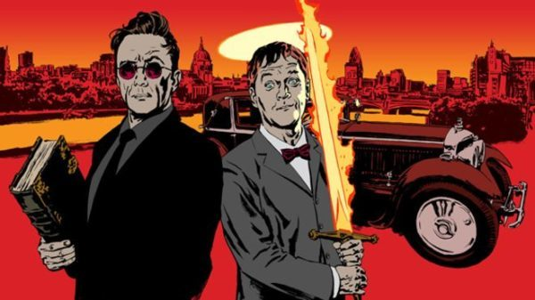 First Look At David Tennant & Michael Sheen From Good Omens
