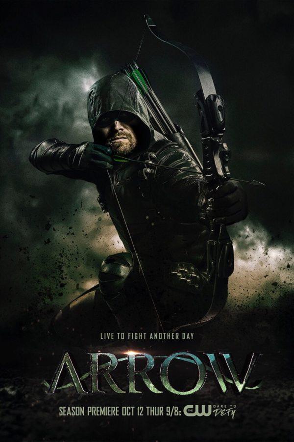 arrow season 6 poster ile ilgili görsel sonucu