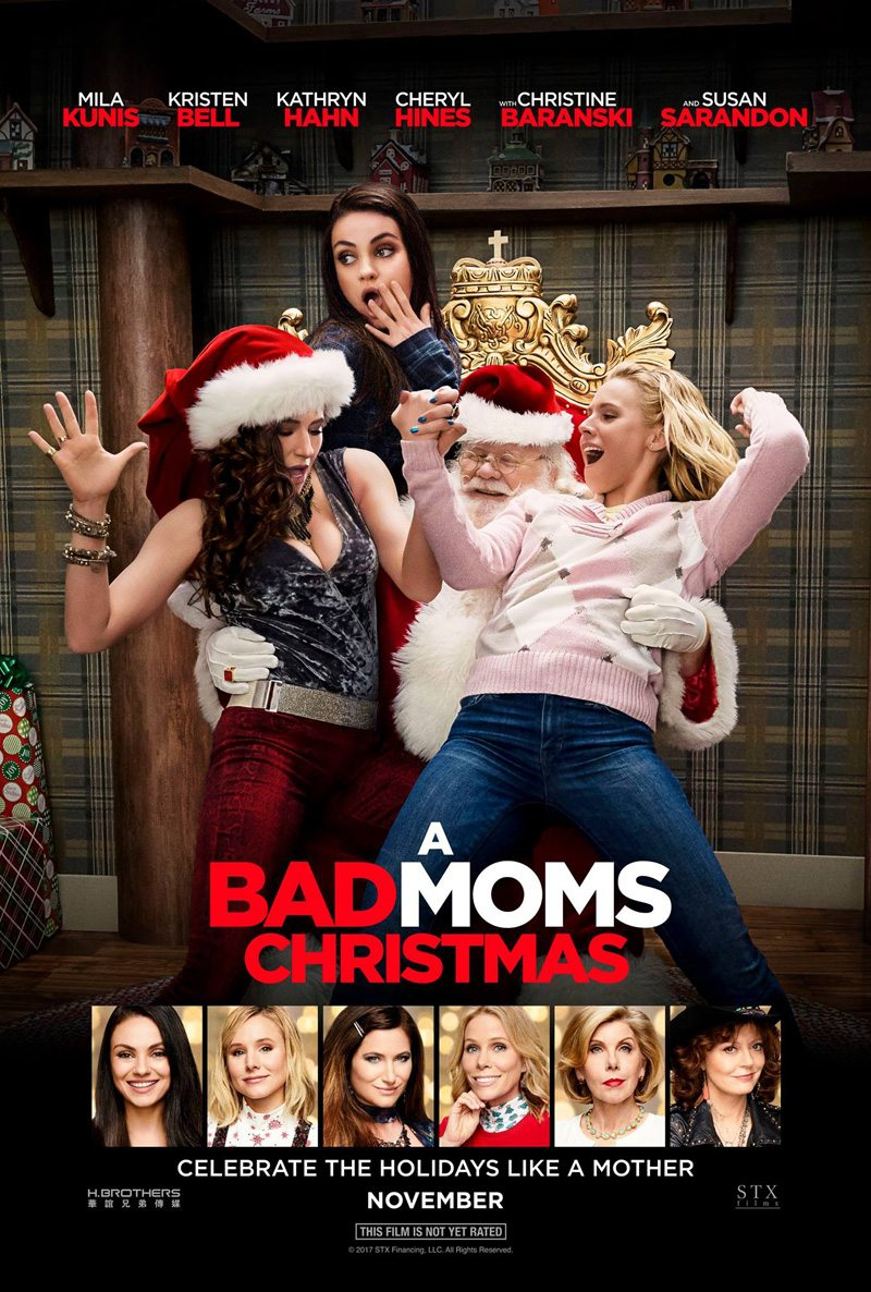 A Bad Moms Christmas gets a new trailer and character posters
