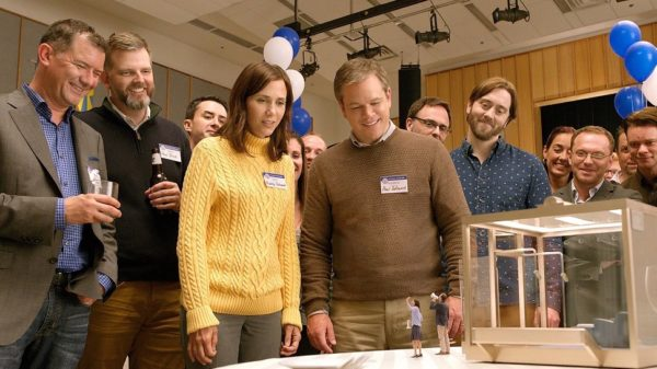 Matt Damon Shrinks Down in first 'Downsizing' Trailer