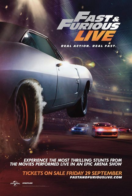 fast furious live posters and trailer revealed. Black Bedroom Furniture Sets. Home Design Ideas