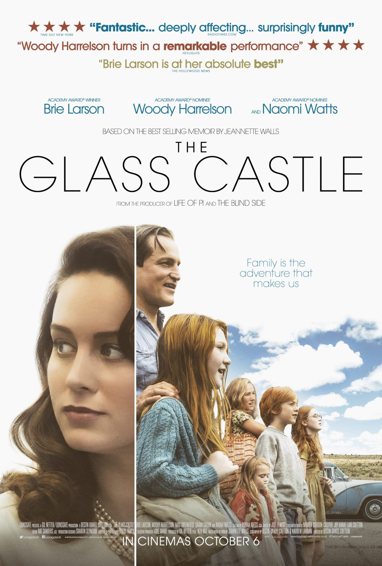 Movie Review – The Glass Castle (2017) Naomi Watts Facebook