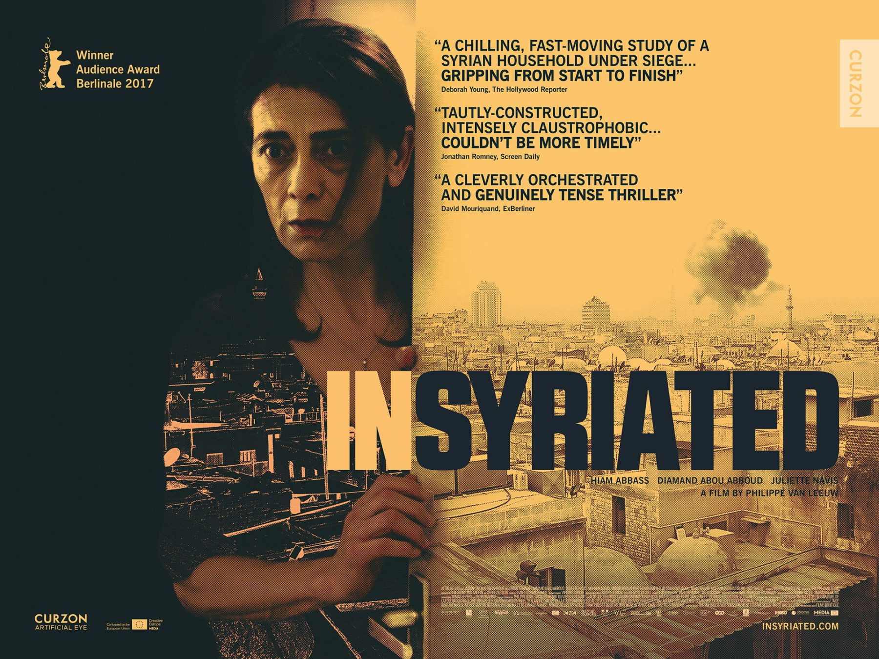 2017 Movie Posters: Movie Review - Insyriated (2017)