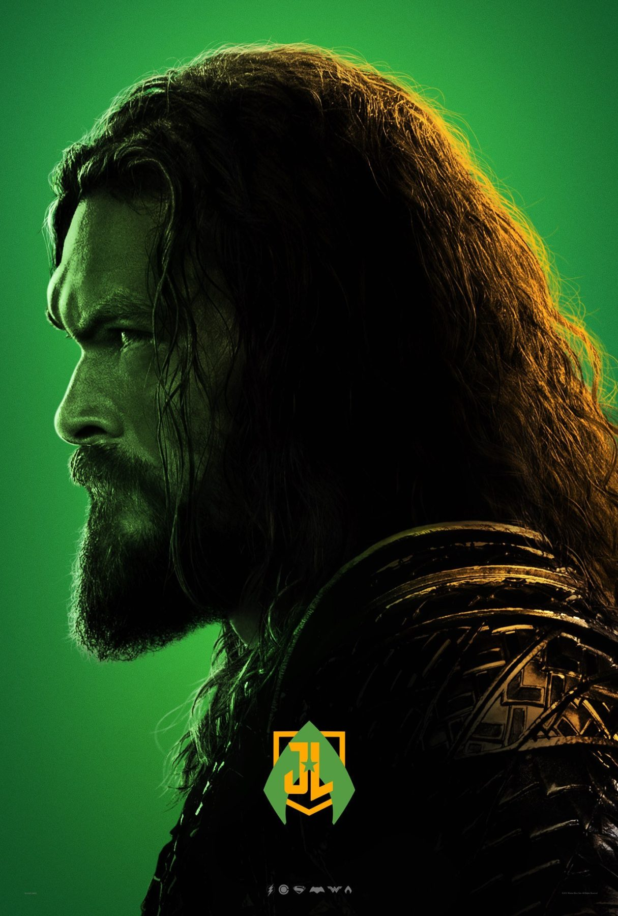 Justice League character posters (3)