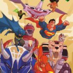 Preview of Justice League/Power Rangers #6