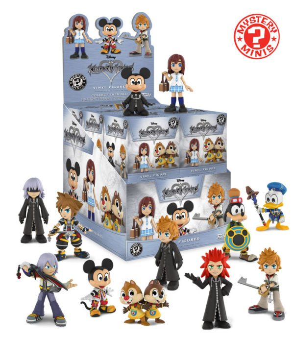Funko Unveils New Kingdom Hearts Pop Vinyl Figures