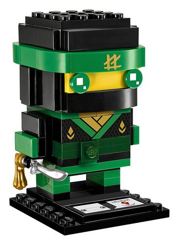 The LEGO Ninjago Movie Brickheadz sets unveiled