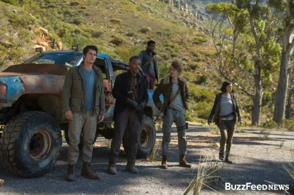 Dylan O'Brien is back on the run in 'Maze Runner
