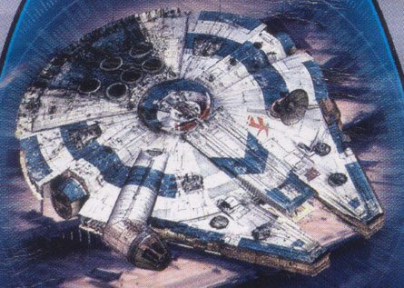 Image result for revenge of the sith millenium falcon