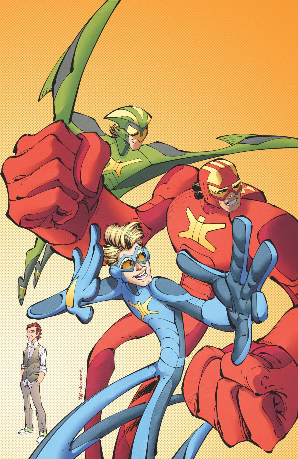Stretch Armstrong expands into comic books with IDW