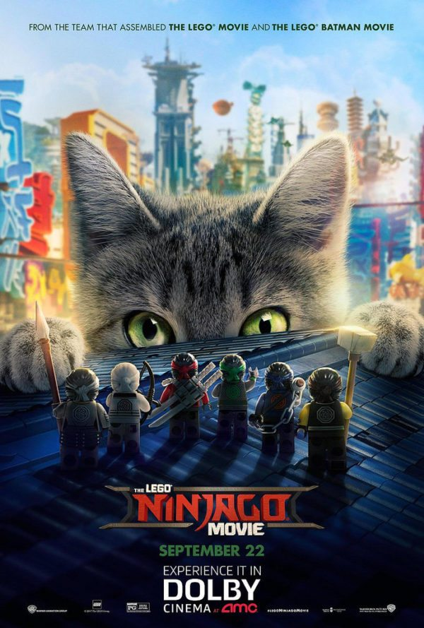 Meowthra featured on new poster for The LEGO Ninjago Movie