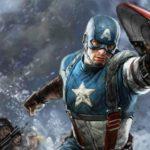 Captain America concept art from the Marvel Studios opening logo