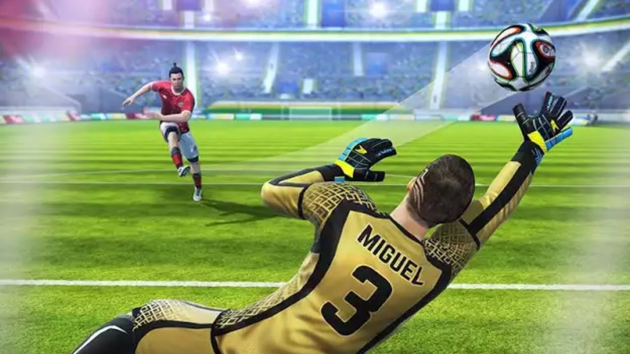 Multiplayer free-kick game Football Strike available now for free on Android and iOS