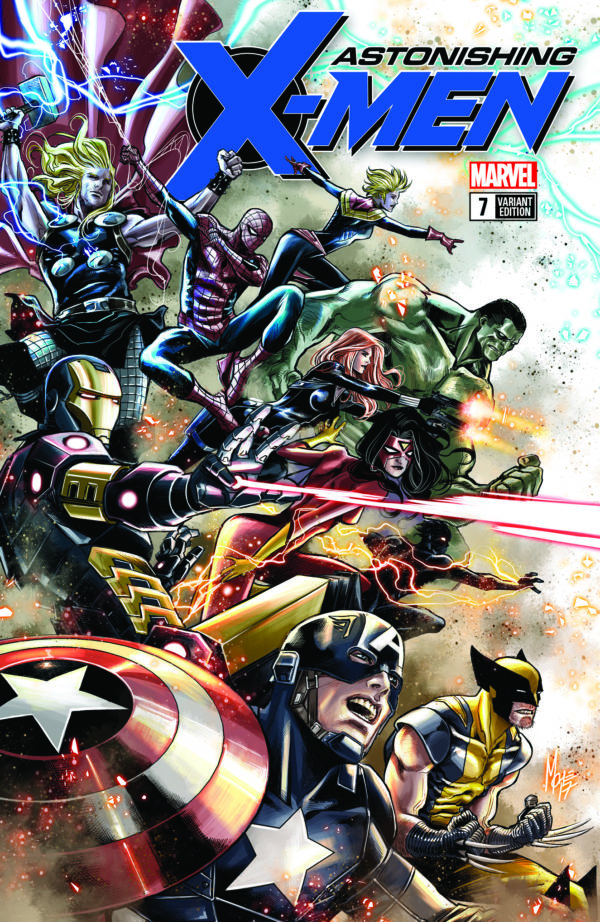 marvel launches its avengers variant cover program this