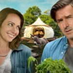 Poster and trailer for comedy Amanda & Jack Go Glamping starring Amy Acker and David Arquette