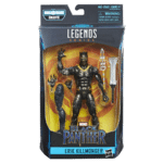 Killmonger, Nakia and Okoye Marvel Legends Black Panther figures revealed by Hasbro