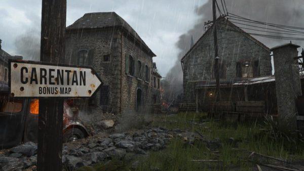 Classic map Carentan is coming to Call of Duty: World War II