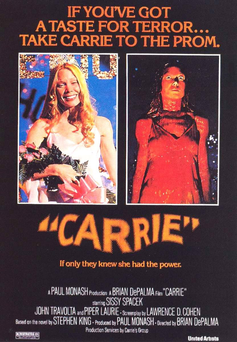 Image result for carrie theatrical poster