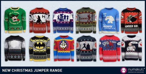Geek Christmas Jumper.Get Your Festive Geek On With Numskull S Official 2017