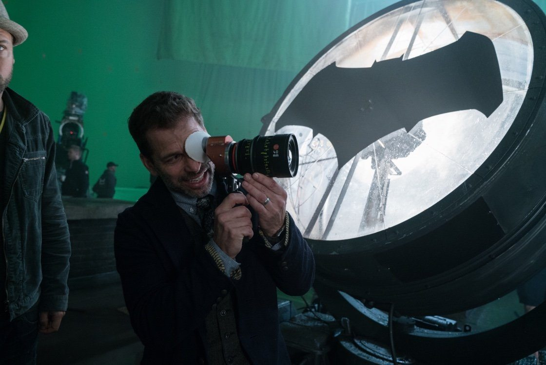 Zack Snyder announces that Justice League reshoots are underway