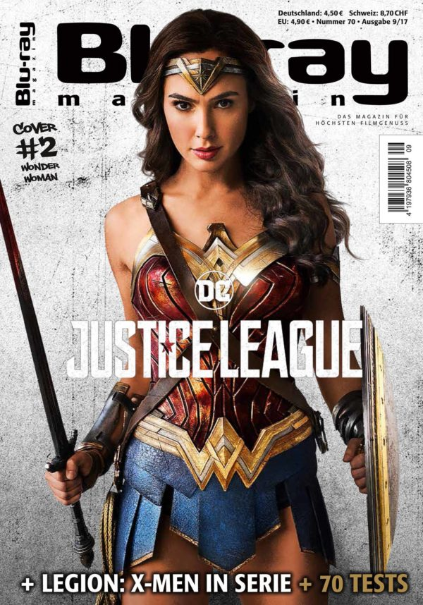 Justice League Gets A New IMAX Poster And Magazine Covers - Magazines look superheroes real