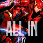 Ezra Miller's Flash gets a Justice League character poster