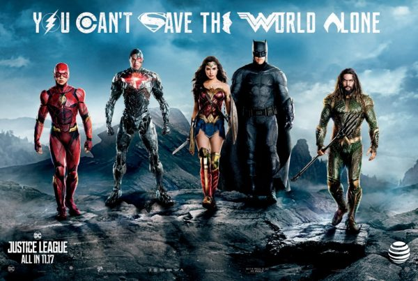 New trailer for 'Justice League' released