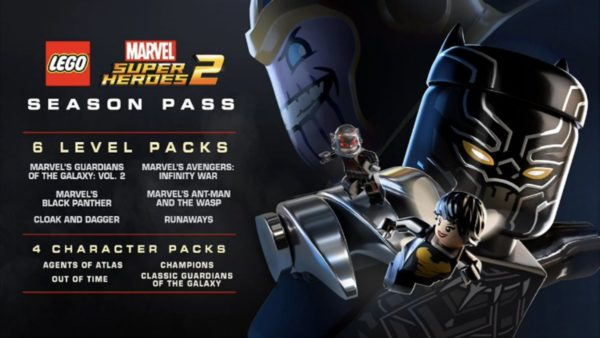 LEGO Marvel Super Heroes 2 Season Pass details and new