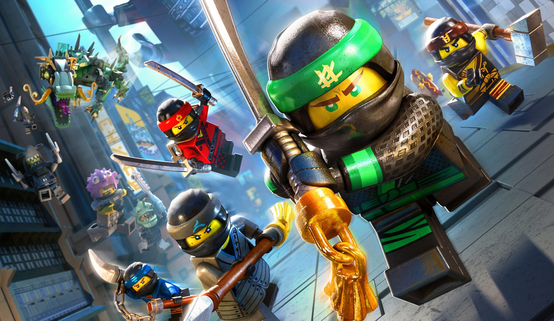 video game review  the lego ninjago movie video game