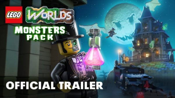 Monsters DLC Pack now available for LEGO Worlds