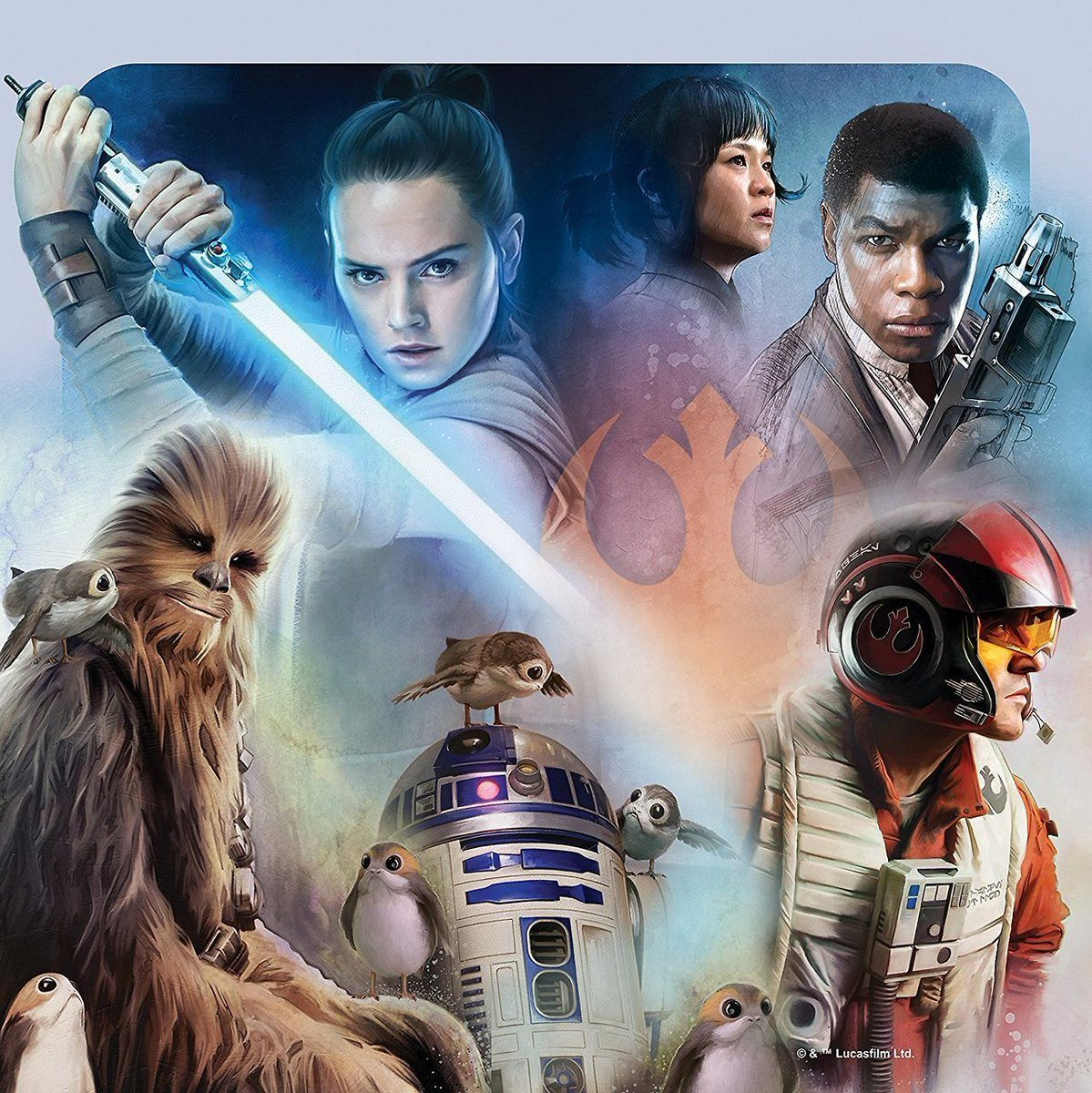 New Promo Posters For Star Wars: The Last Jedi